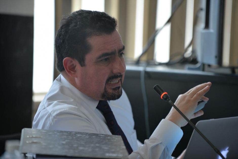 Vernon González es acusado de tráfico de influencias. (Foto: Wilder López/Soy502)