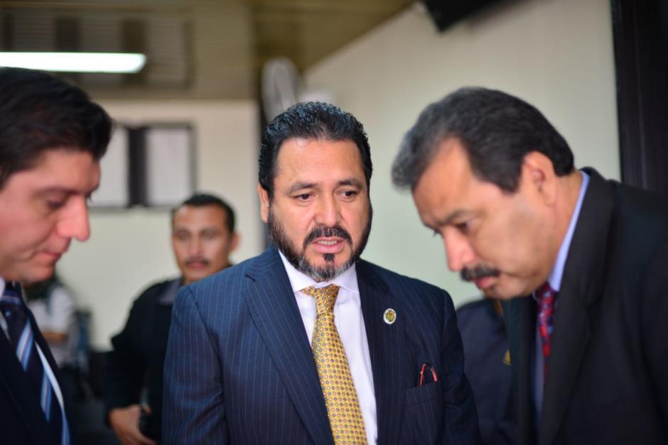 Uno de los abogados de Gudy Rivera es César Calderón. (Foto: Jesús Alfonso/Soy502)
