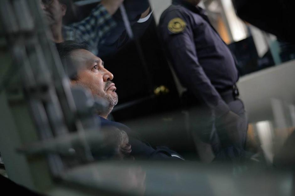 El 9 de marzo pasado fue enviado a prisión preventiva. (Foto: Wilder López/Soy502)