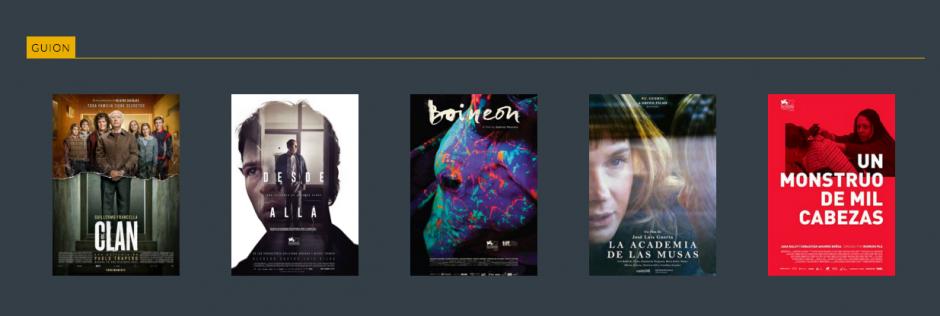 Ellos escribieron los mejores guiones este año según la crítica. (Foto: mejor Guión)