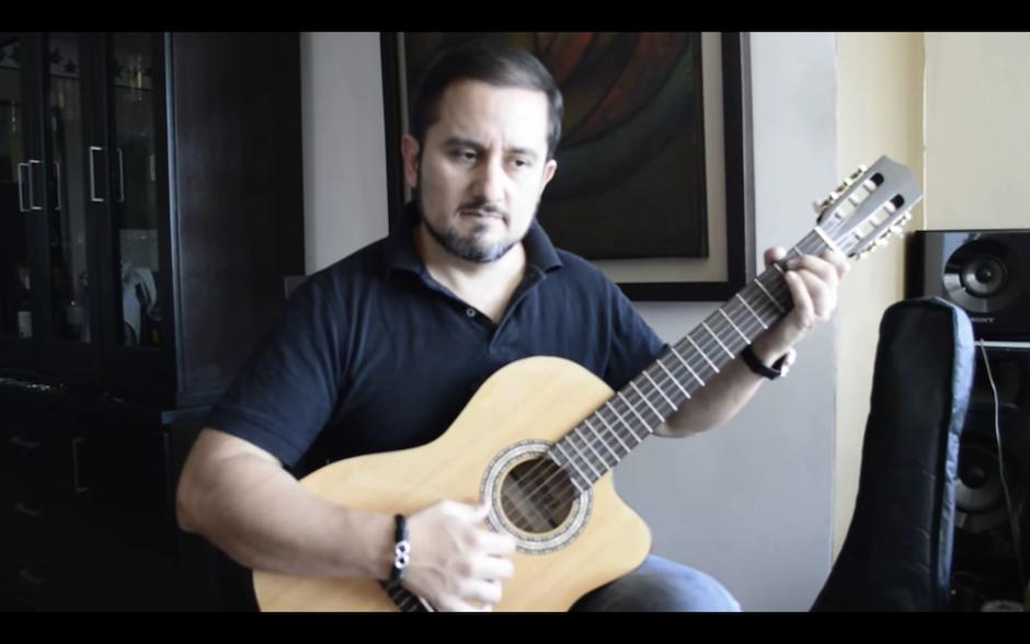 José Luis Lemus clasificó en la final de Guitar Master 2016 que se realiza en Polonia. (Foto: Captura de YouTube)