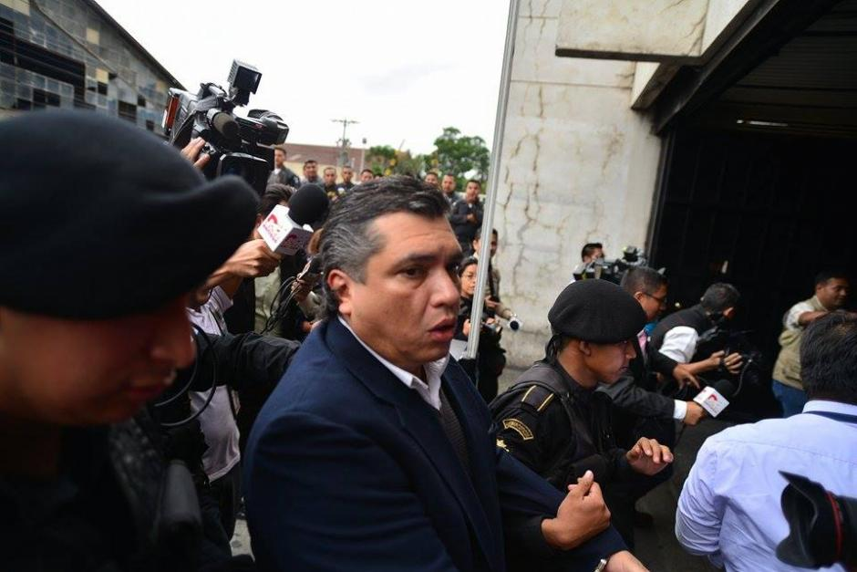 El exsecretario general del Presidente es acusado de tráfico de influencias y asociación ilícita. (Foto: Wilder López/Soy502)