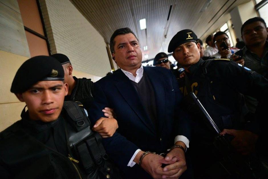 Gustavo Martínez dijo que no se había comunicado con Otto Pérez Molina porque no lo considera necesario. (Foto: Wilder López/Soy502)