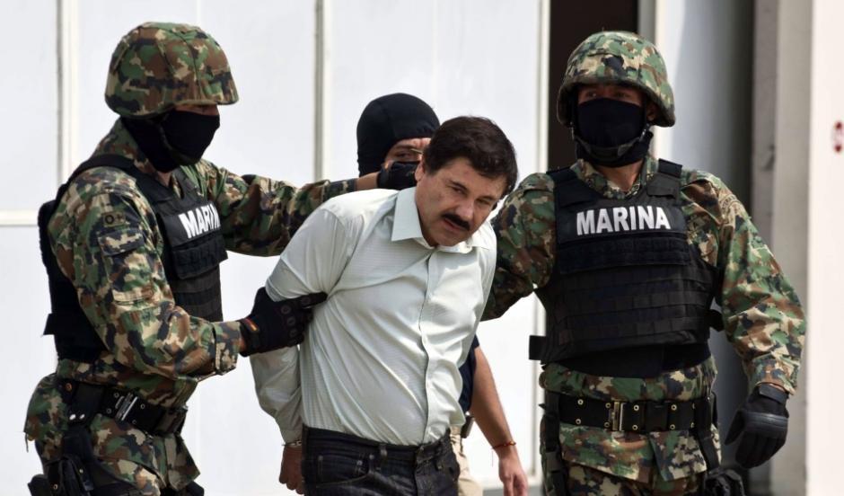 """Joaquín """"El Chapo"""" Guzmán escapó de la cárcel y estuvo prófugo por vario tiempo, hasta que fue recapturado y en 2015 volvió a escapar del penal del Altiplano. (Foto. Archivo)"""
