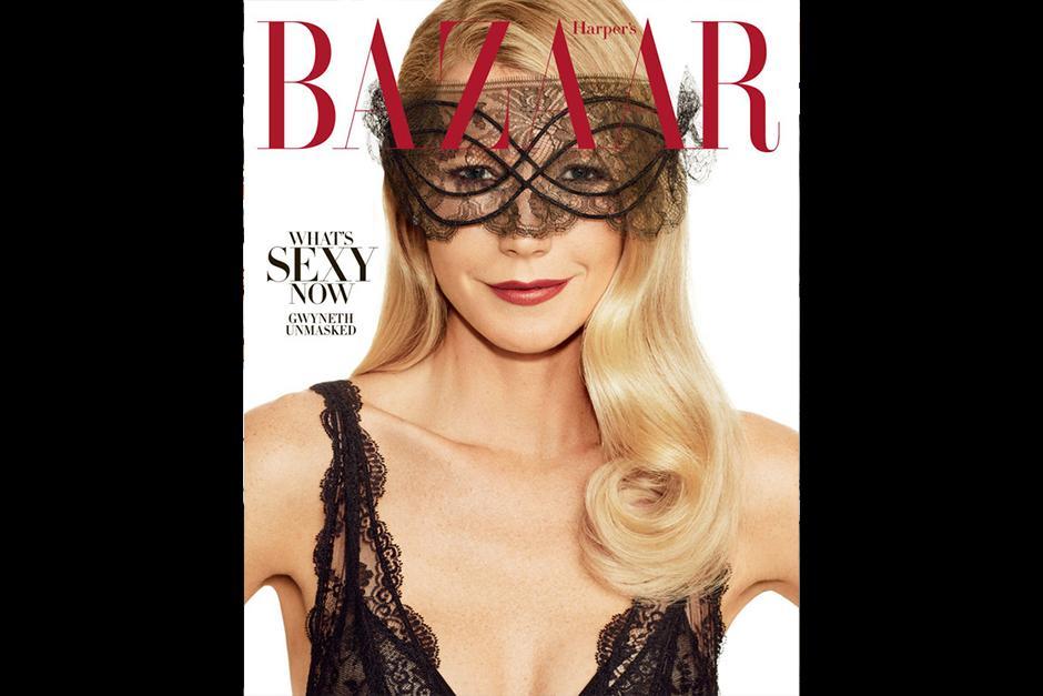 Gwyneth Paltrow regresa a las portadas con una sensual foto. (Foto: Harper's Bazaar)