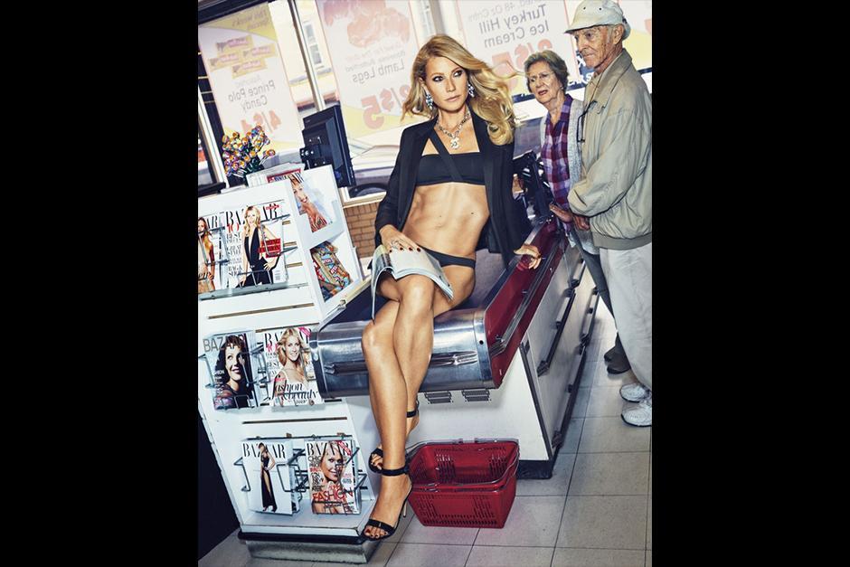 Gwyneth se vuelve portada de Harper's Bazaar de la edición de noviembre. (Foto: Harper's Bazaar)