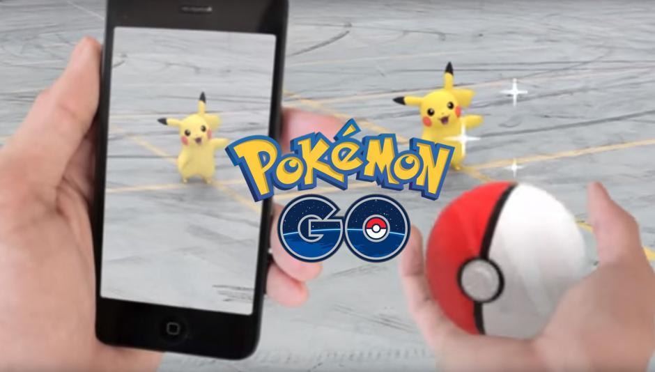 Pokémon Go se juega en las calles. (Foto: Pokémon go)