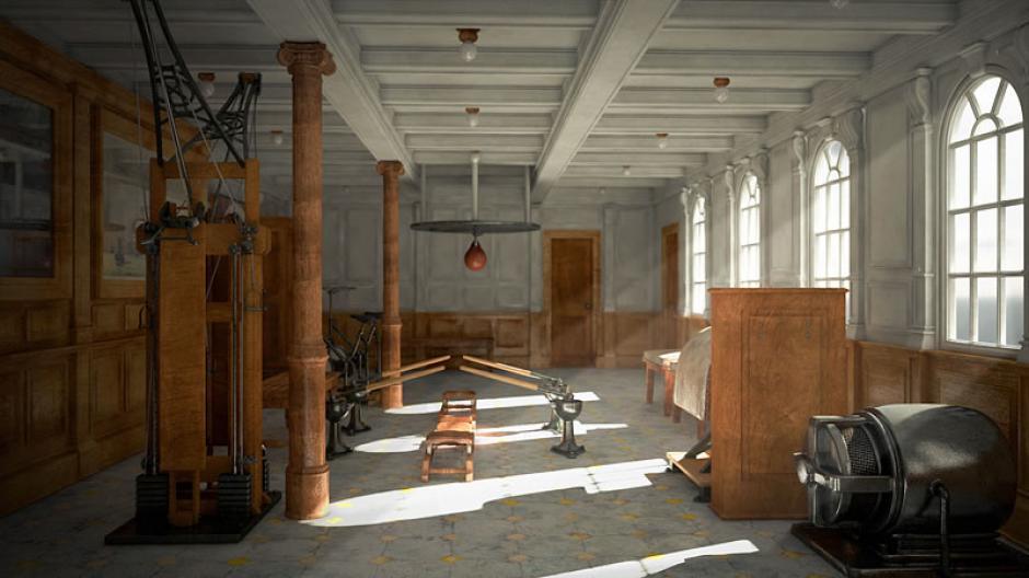 Así lucirá el gimnasio del Titanic II. (Foto: titanic-ii.com)