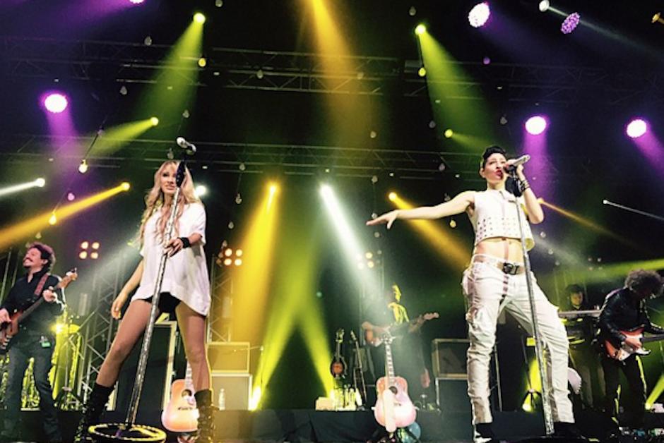 La agrupación se encuentra realizando una gira por Latinoamérica. (Foto: Ha+Ash/Instagram)