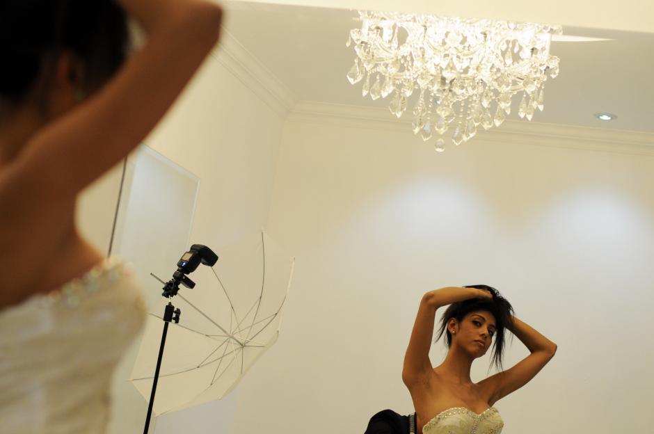 Las modelos del evento, a realizarse el 10 de octubre, representan la belleza nacional.