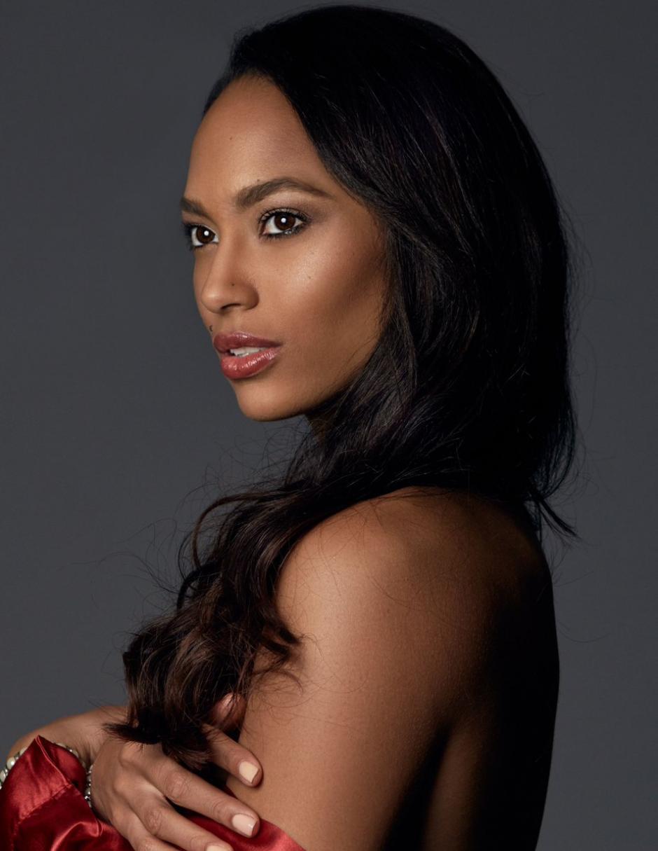 Haití llegó a los tres países finalistas con la representación de Raquel Pelissier, quien tiene una licenciatura en optometría. (Foto: Twitter/Miss Universe)