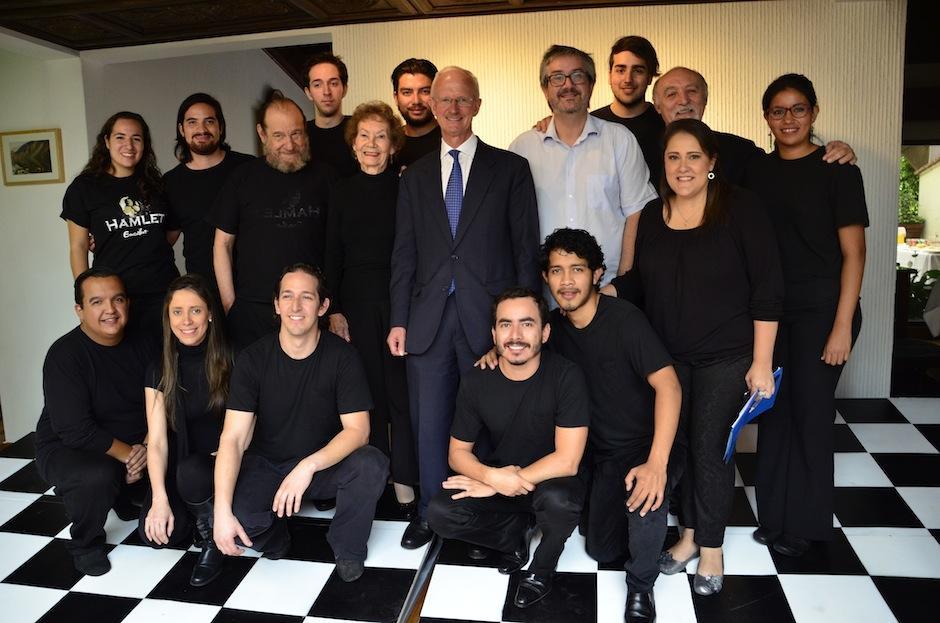 El elenco está formado por talento guatemalteco y mexicano. (Foto: Selene Mejía/Soy502)