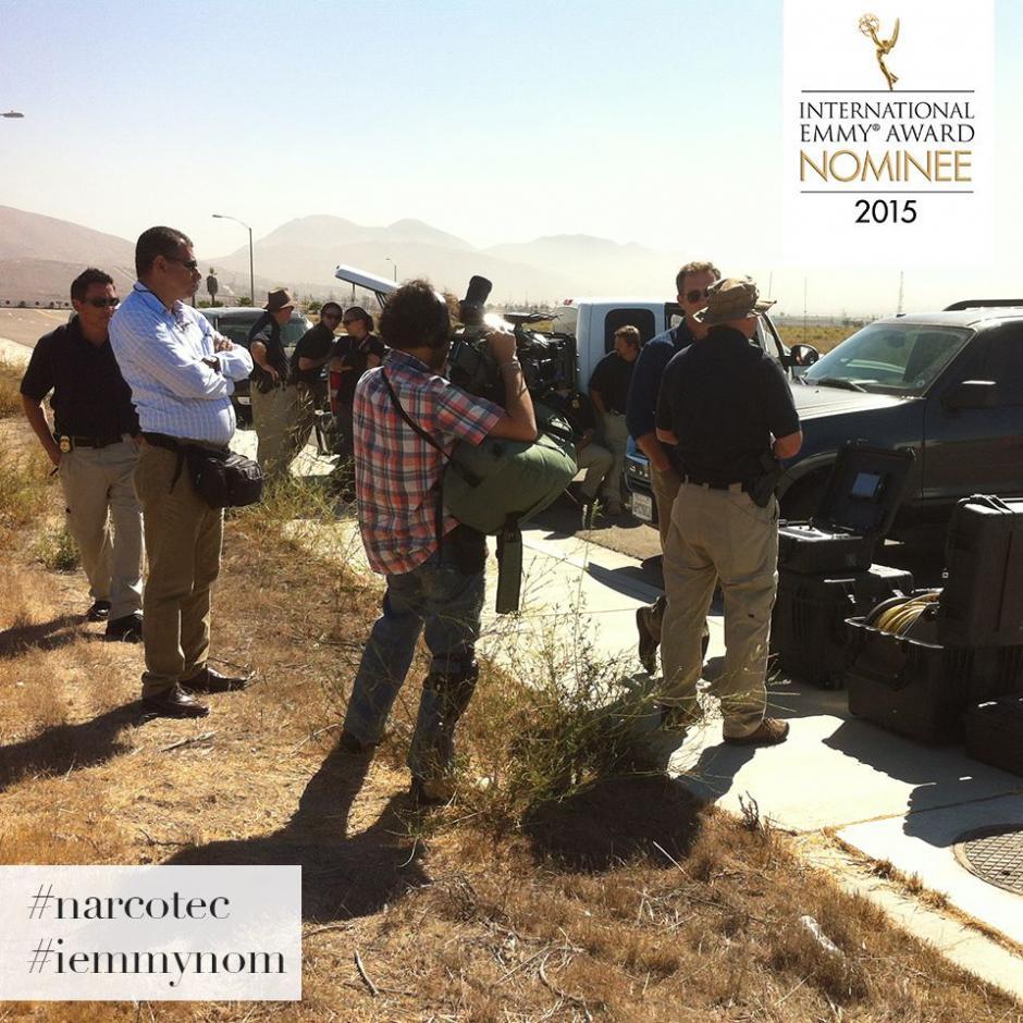 El periodista abordó a representantes del narcotráfico y fuerzas de seguridad para la realización del documental. (Foto: Harris Whitbeck oficial)