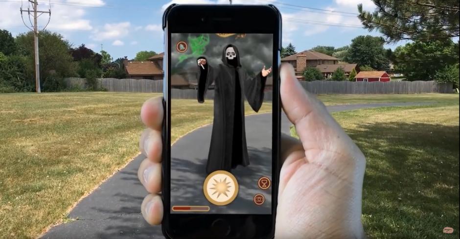 Fanáticos de Harry Potter han creado imágenes de cómo podría lucir el juego. (Captura de pantalla: Near Human Intelligence/YouTube)