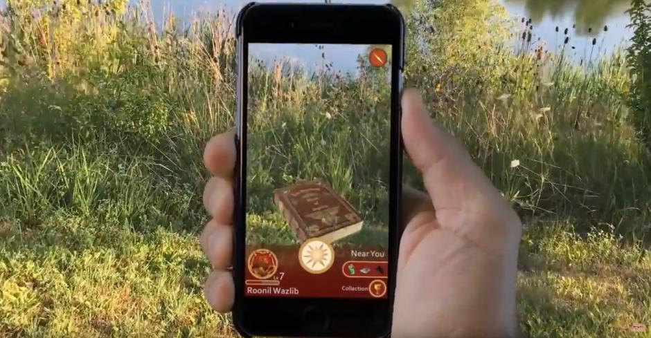 Los fanáticos piden que se desarrolle una app para Harry Potter. (Captura de pantalla: Near Human Intelligence/YouTube)