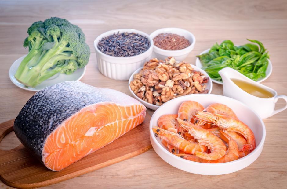 Todos los alimentos que contienen omega 3 alivian la tensión muscular. (Foto: healthyfoodelements.com)