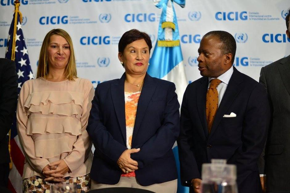 Los funcionarios abordaron el fortalecimiento institucional incluida la CICIG. (Foto: Wilder López/Soy502)