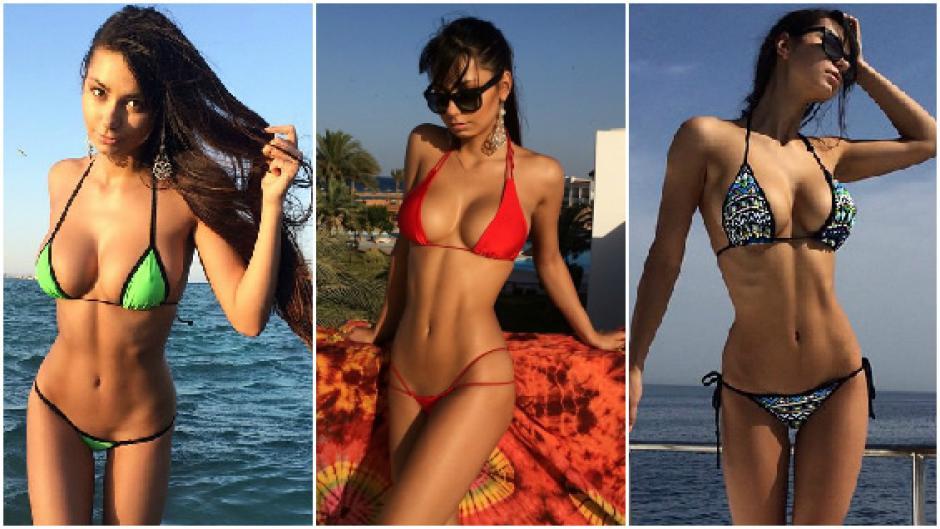 Helga Lovekaty modelo James Rodríguez foto 02
