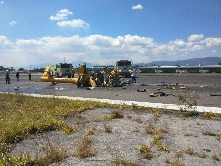 El accidente dejó al menos cuatro personas muertas. (Foto: Emisoras Unidas)