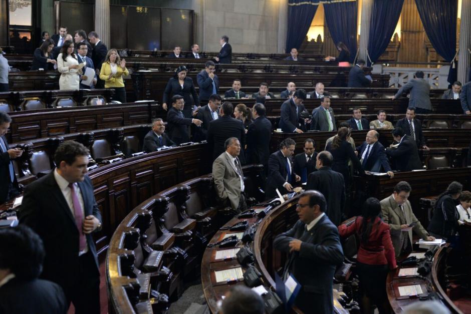 Los diputados iniciaron el segundo periodo ordinario de sesiones. (Foto: Wilder López/Soy502)