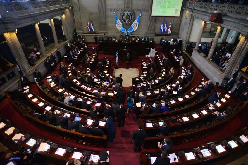 El pleno del Congreso rechazó el veto presidencial. (Foto: Archivo/Soy502)