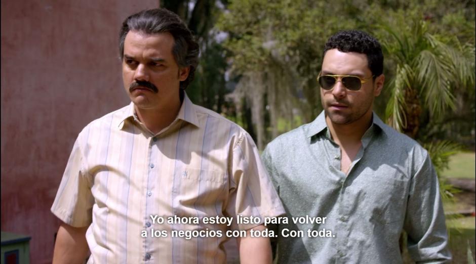 Carlos Henao, su tío materno no se dedicaba al narcotráfico como pinta la serie. (Foto: Netflix)