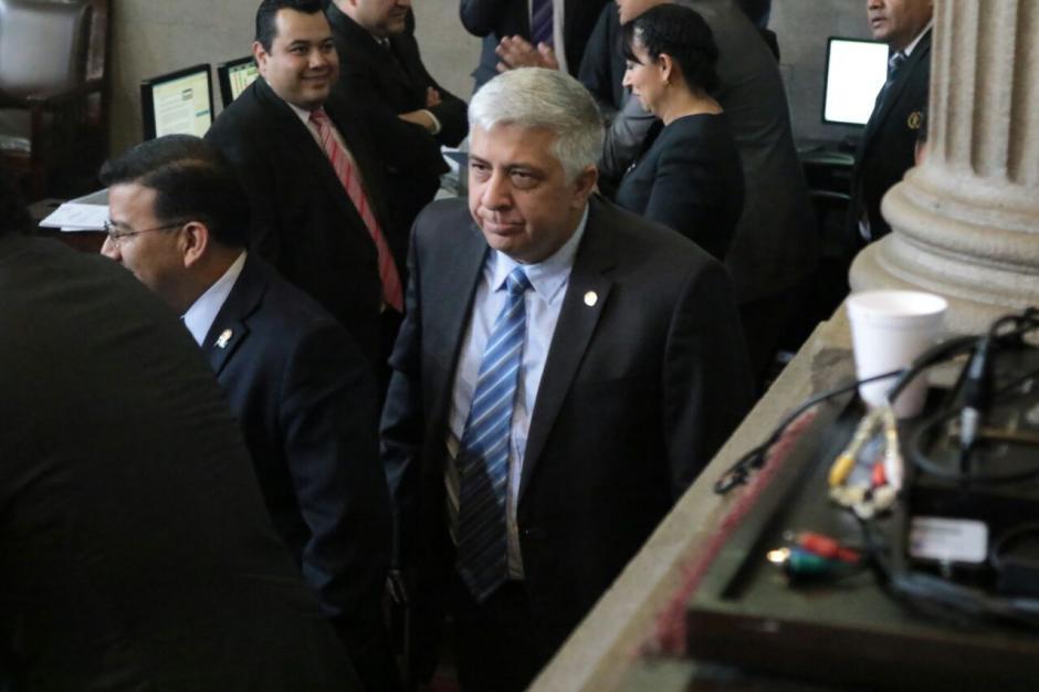 Herber Melgar Padilla fue juramentado el pasado martes. (Foto: Alejandro Balán/Soy502)