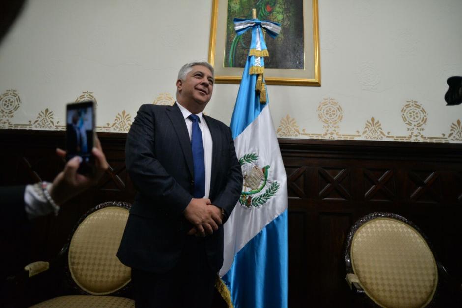 Herber Armando Melgar Padilla es uno de los militares cercanos a Jimmy Morales. (Foto: Wilder López/Soy502)