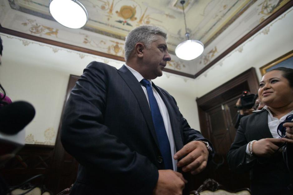 El militar retirado niega dirigir operaciones clandestinas de espionaje. (Foto: Wilder López/Soy502)