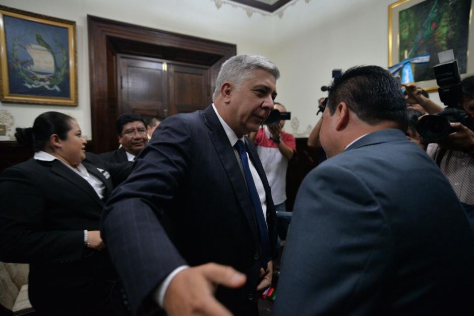 Melgar Padilla considera que existe un ataque político en su contra. (Foto: Wilder López/Soy502)
