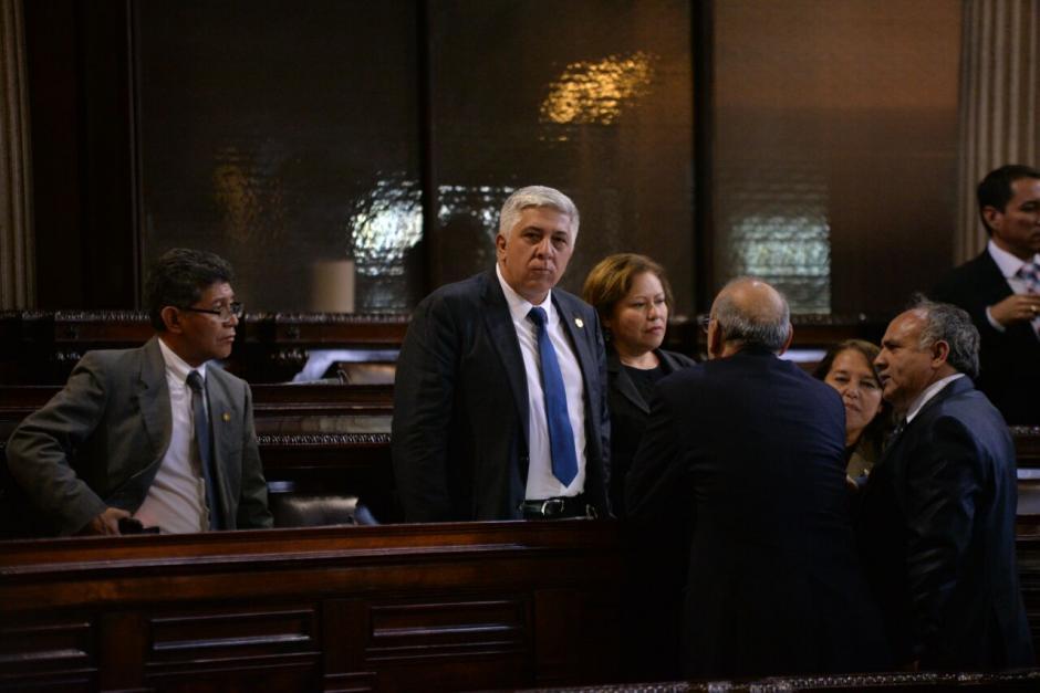 El militar retirado ocupará la curul dejada por Alsider Arias. (Foto: Wilder López/Soy502)
