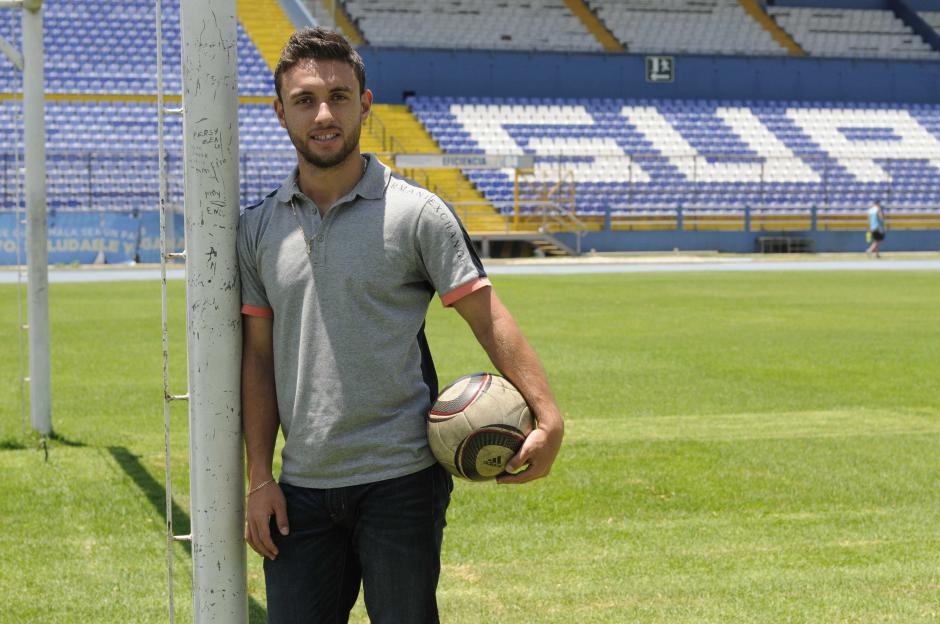 Henry López recordó su gol histórico cinco años después, en el mismo estadio, el Mateo Flores. (Foto: Soy502)