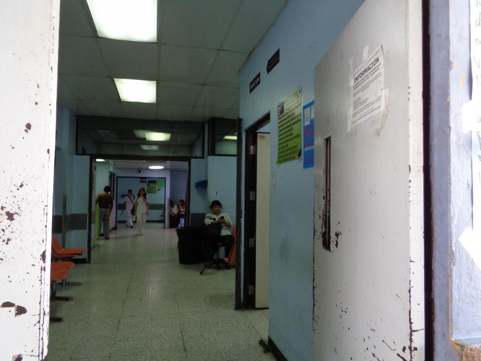 En la emergencia también se observan las carencias presupuestarias. (Foto Marcia Zavala/Soy502)