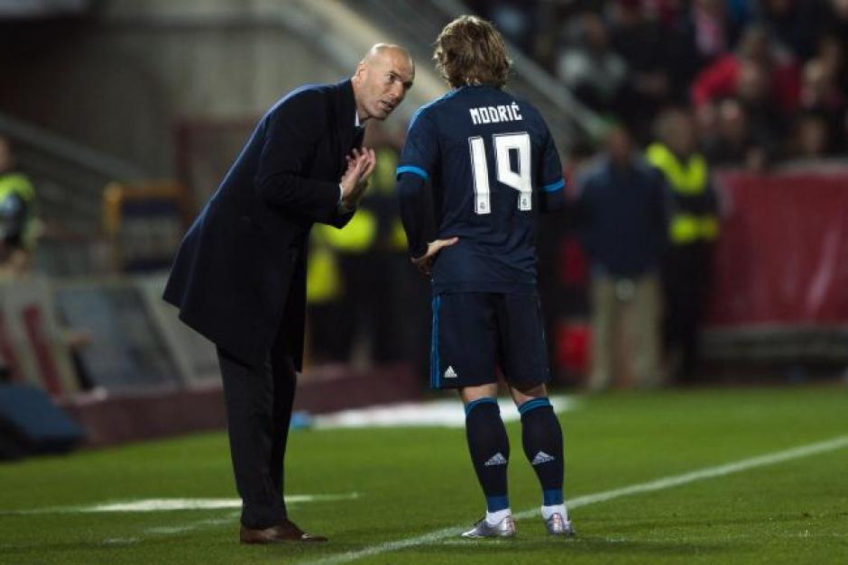 Modric Zidane foto