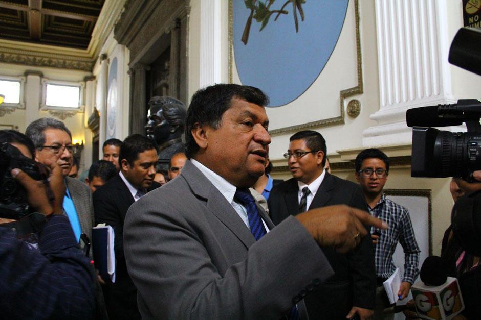 El exfuncionario buscaba la reelección como diputado al Congreso de la República.  (Foto: Archivo/Soy502)