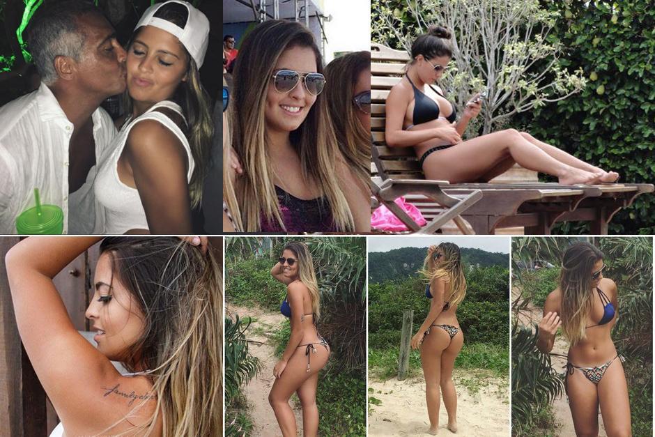 Danielle Favatto hija Romario foto