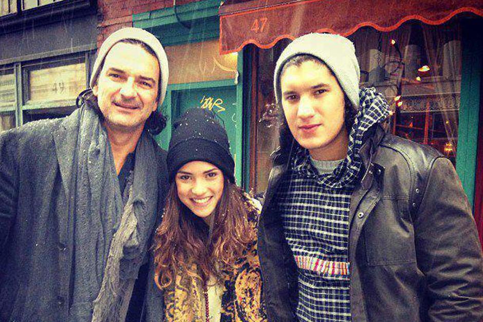 Adriana y Ricardo son los hijos mayores del cantautor. (Foto: Twitter/Ricardo Arjona)