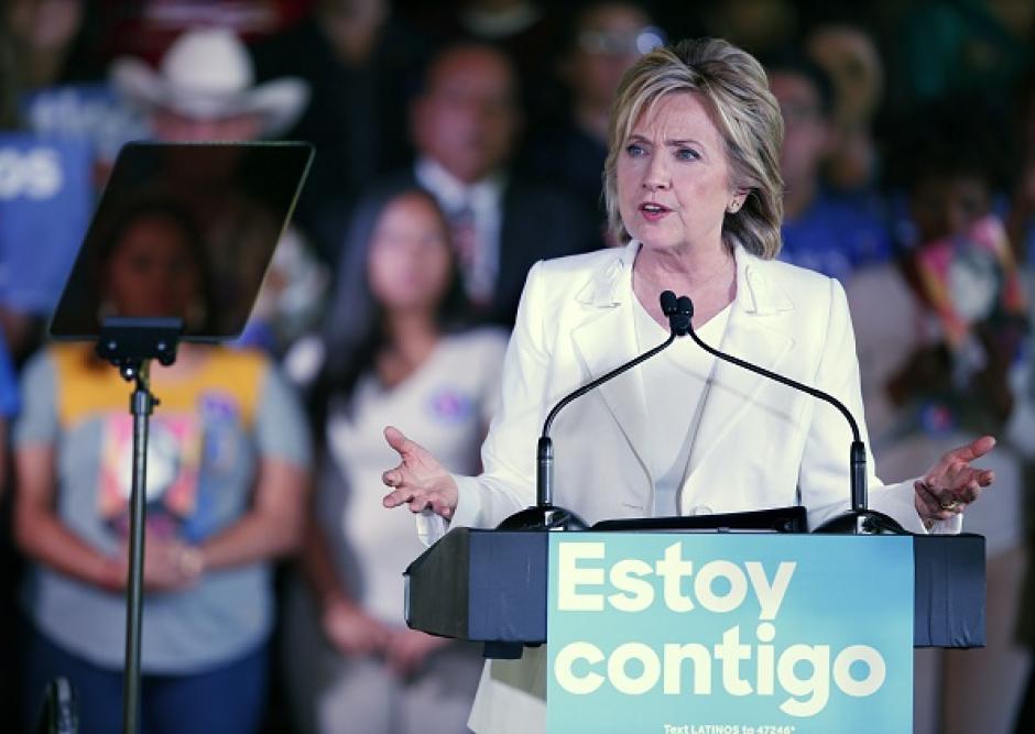 La candidata Demócrata tiene un gran apoyo de los latinos. (Foto: Hillary Clinton)