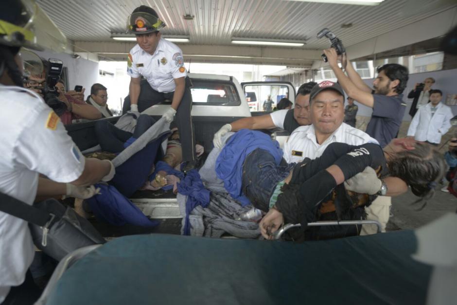 Hasta el momento se han confirmado más de 15 menores de edad muertos. (Foto: Wilder López/Soy502)