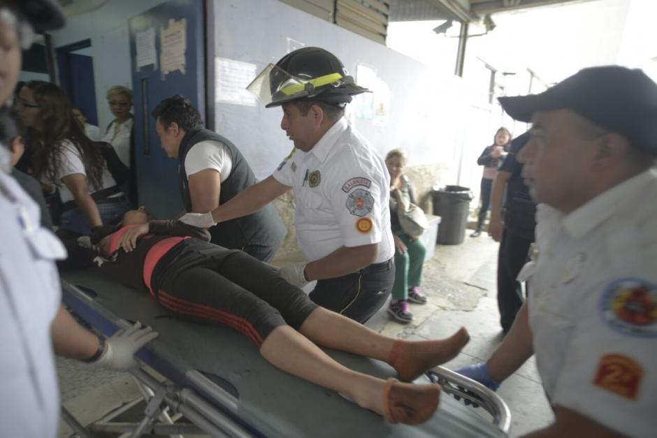 Más de 30 menores de edad resultaron con quemaduras graves durante un incendio en el Hogar Seguro Virgen de la Asunción. (Foto: Wilder López/Soy502)
