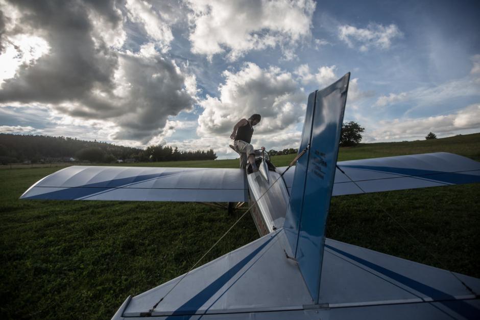 El aparato únicamente tiene espacio para el piloto. (Foto: huffingtonpost.co.uk)