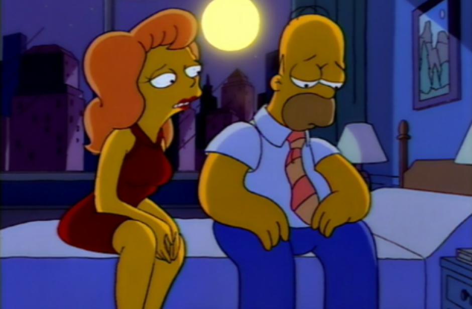 Homero tuvo un momento de debilidad. (Imagen: Fox)