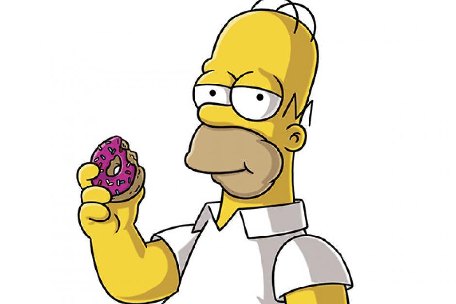 Homero es amante de las donas. (Imagen: Fox)