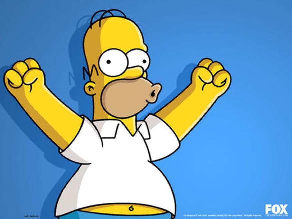 El peculiar ¡uju! de Homero Simpson (Imagen: Fox)