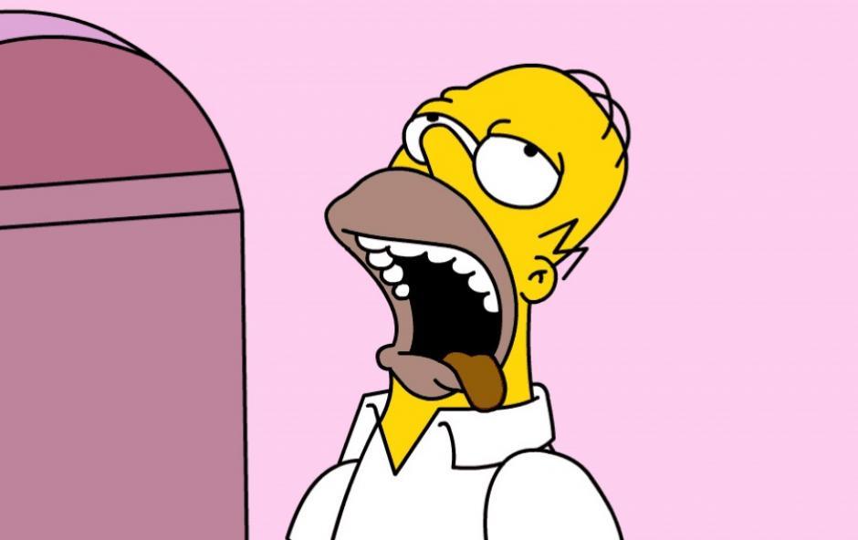 Las expresiones de Homero. (Imagen: Fox)