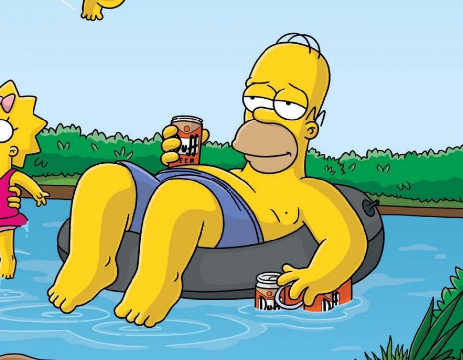 Un jefe de la familia Simpson disfruta de los momentos de descanso. (Imagen: Fox)