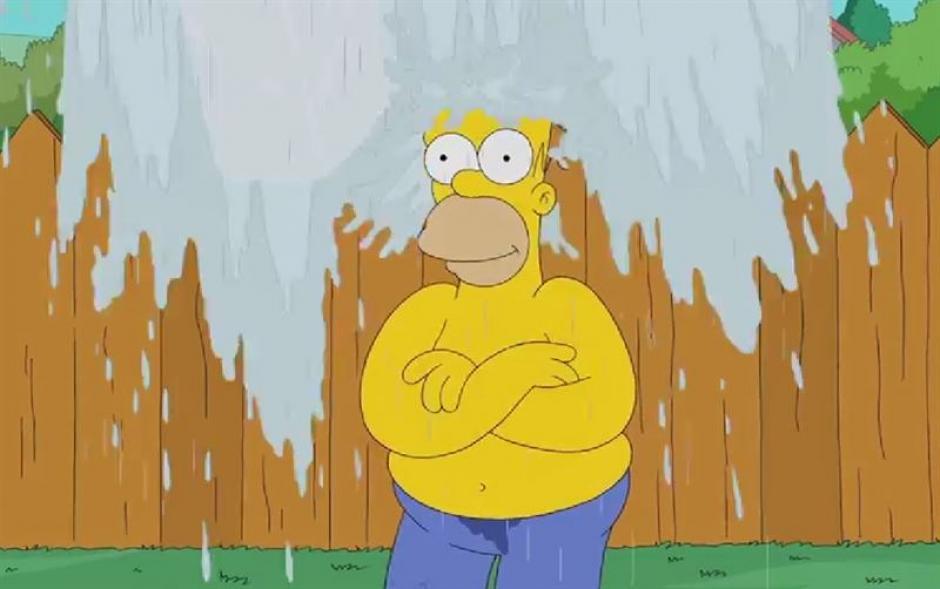 Homero siempre esta listo para la aventura. (Imagen: Fox)