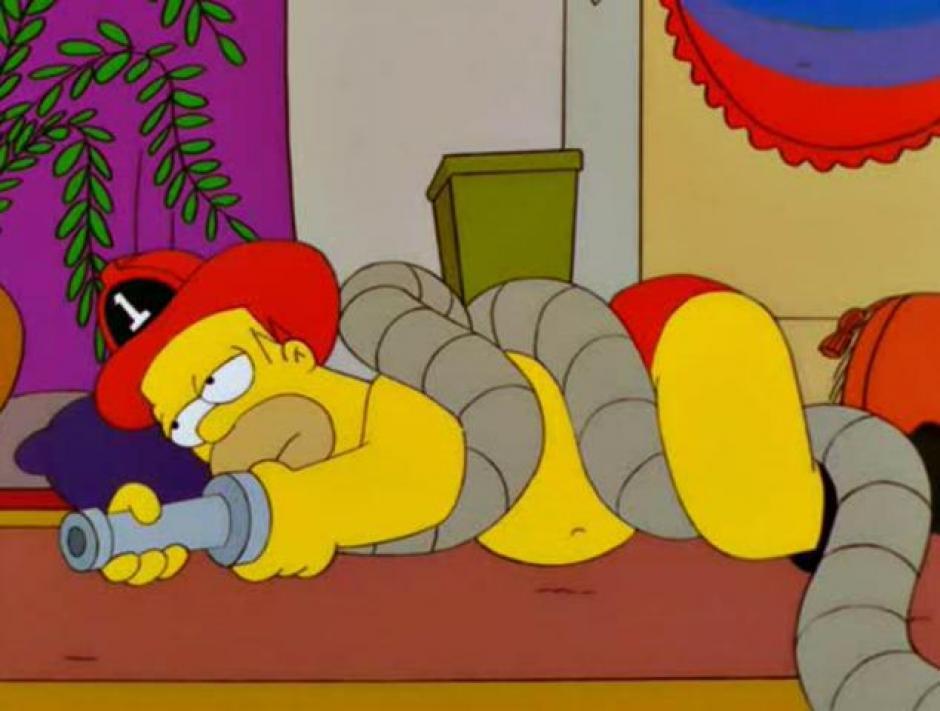 A Homero siempre tiene locas ocurrencias. (Imagen: Fox)
