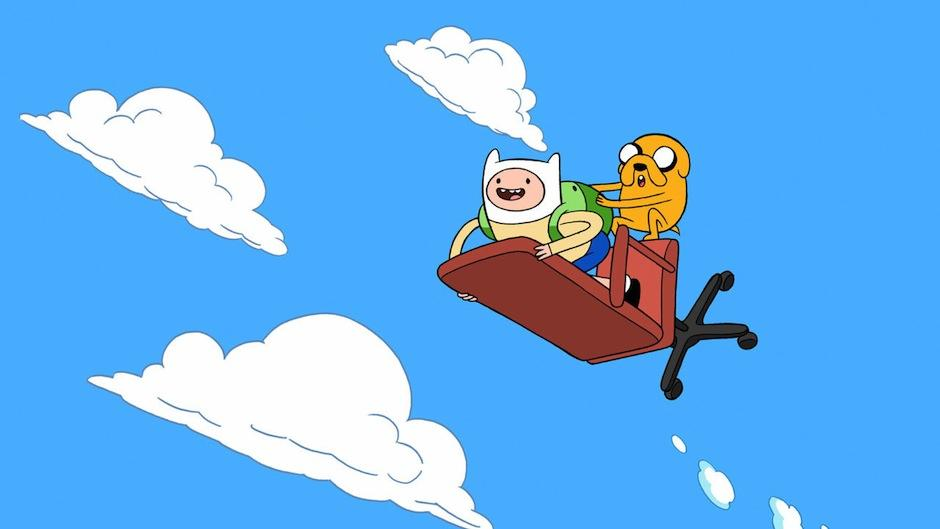 Junto a Jake, Finn defiende a todos los habitantes Ooo de los malvados. (Foto: Cartoon Network)