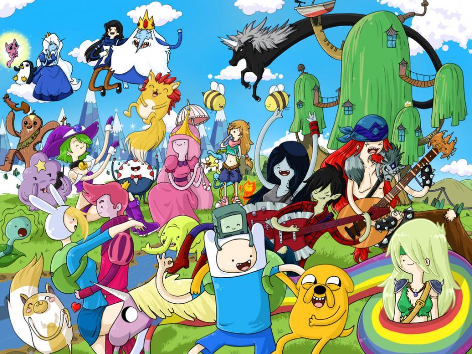 La tierra de Ooo alberga los amigos más geniales. (Foto: Cartoon Network)